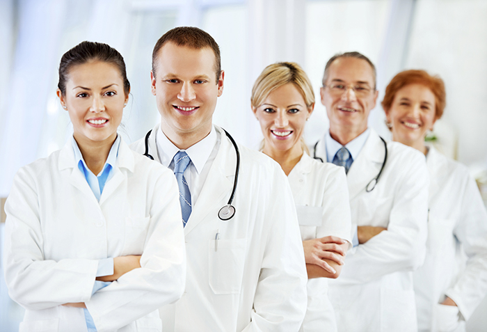 group of medical professional