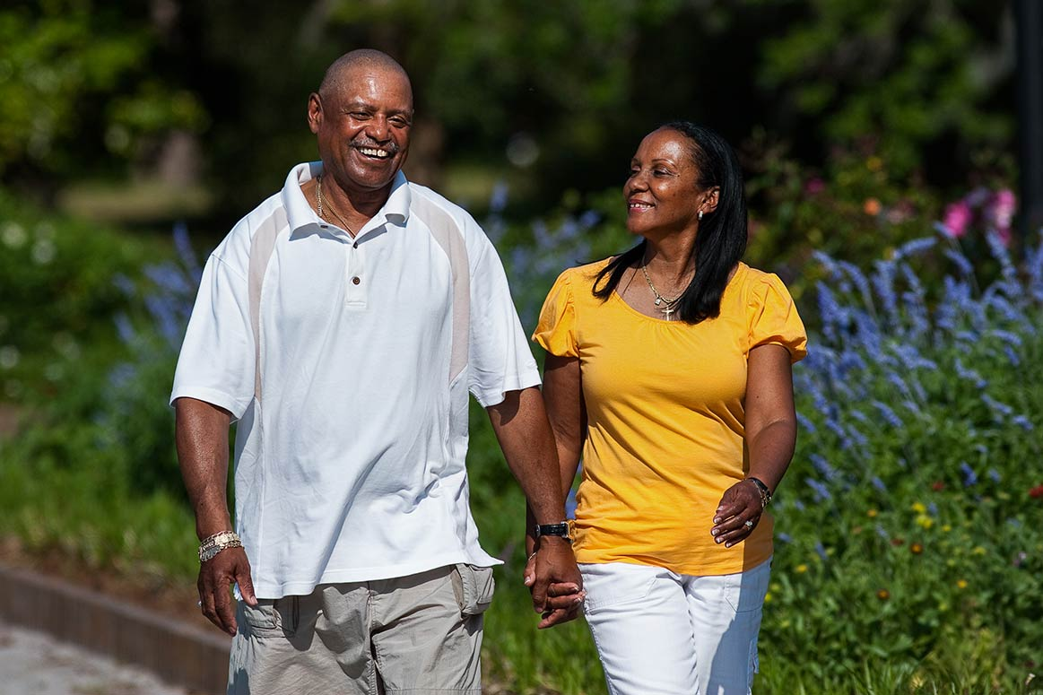 african-american-couple-walking