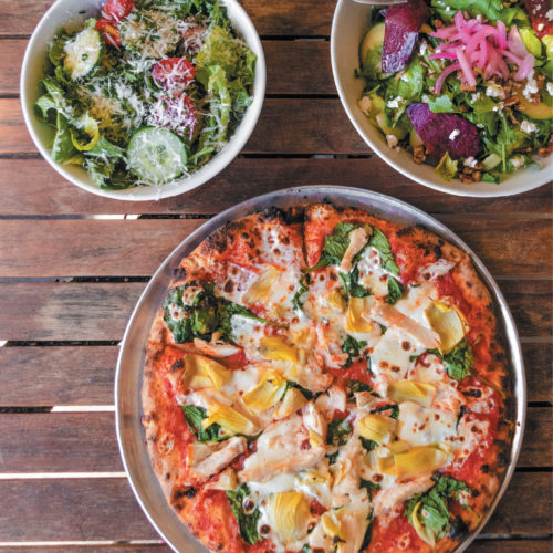 Here's What a Dietitian Orders from Crust Wood Fired Pizza