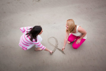 Jessica and Meghan, Breast Cancer Survivors