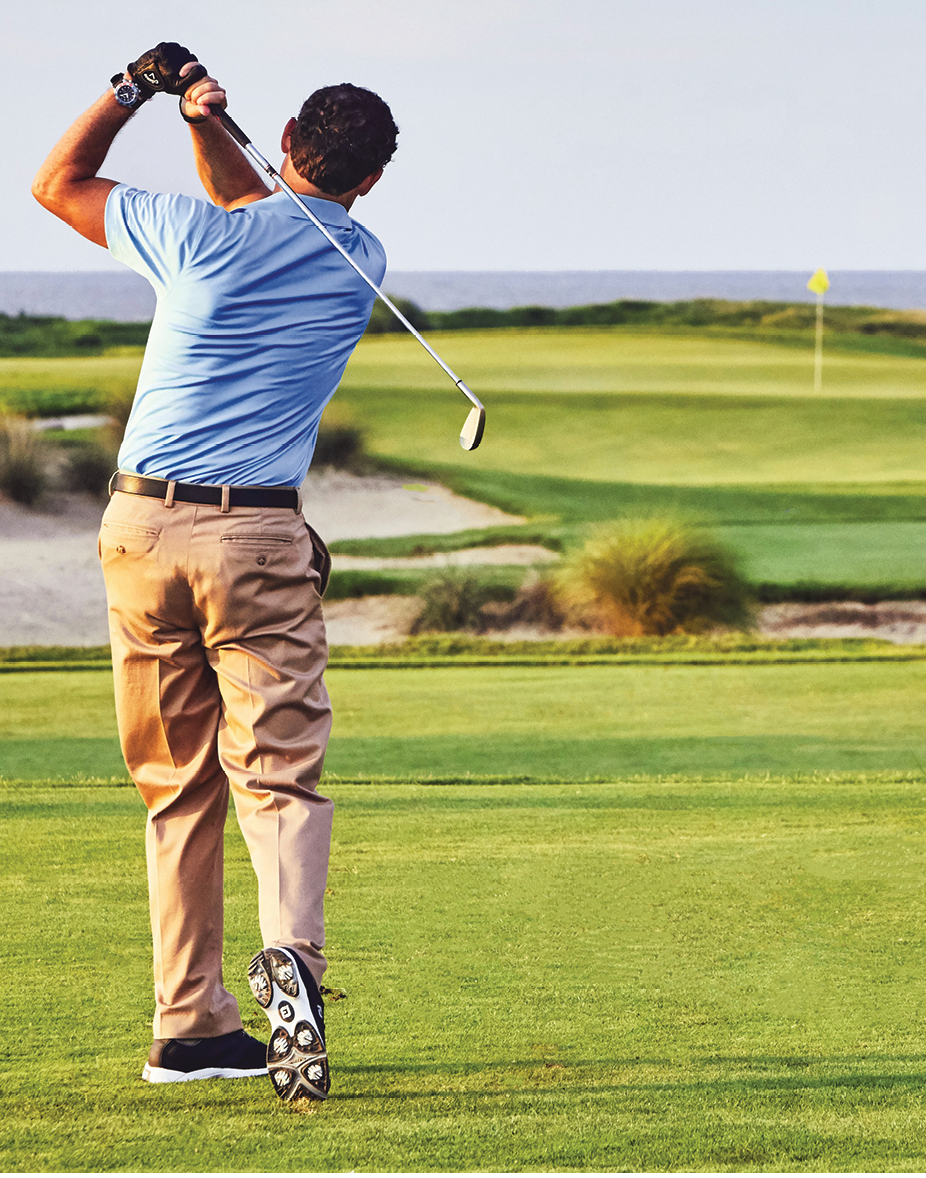 Wild Dunes Resort on Isle of Palms offers 36 scenic holes between the Links Course and Harbor Course. Both courses are open to the public (with tee time reservations).