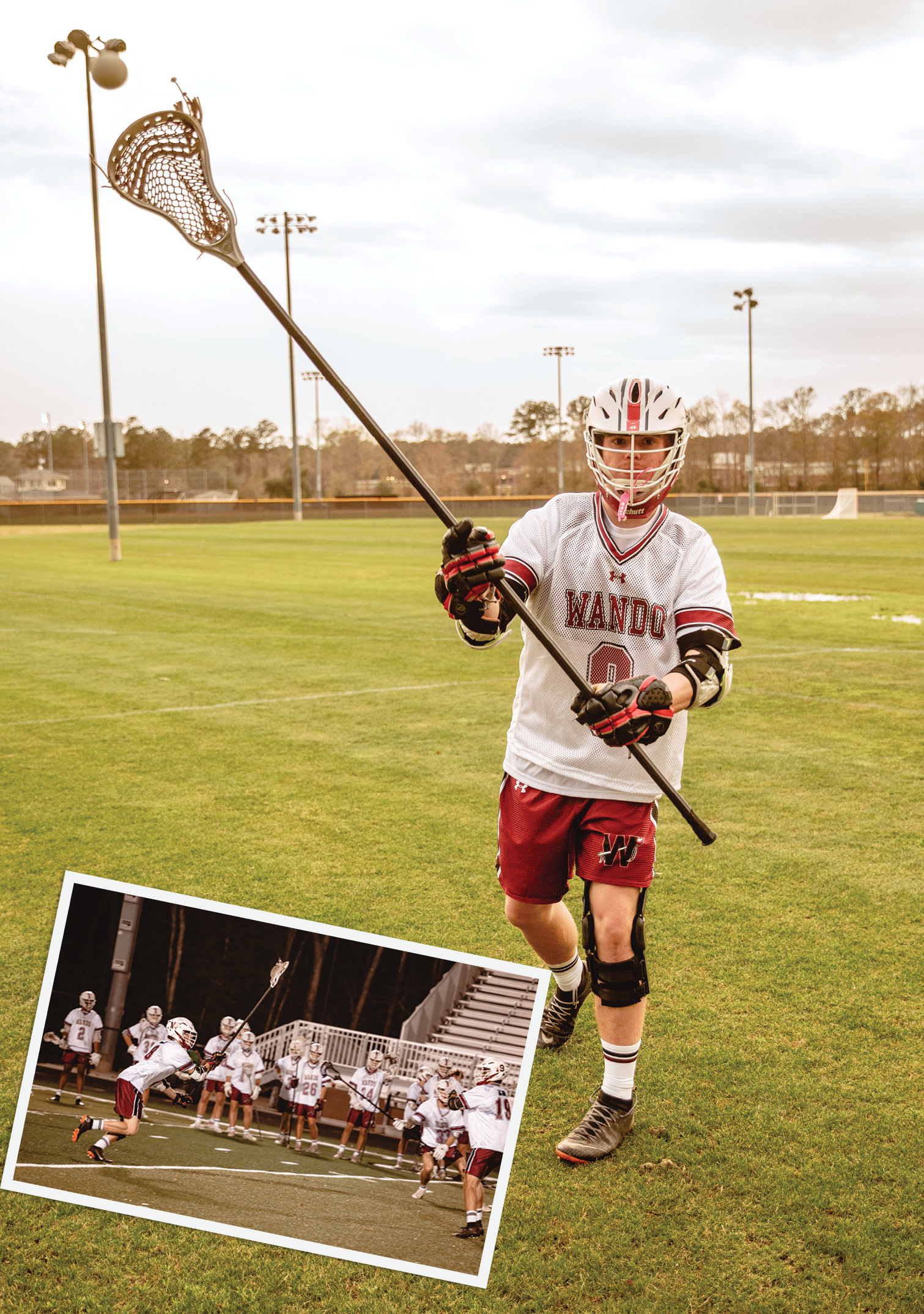 """""""It actually didn't hurt—I ran off the field and was ready to go back into the game,"""" says Mount Pleasant teen Henry Maloney, who was surprised to learn he had an ACL tear. Almost one year later, and after undergoing reconstruction surgery, Henry is healed and back on the lacrosse field."""