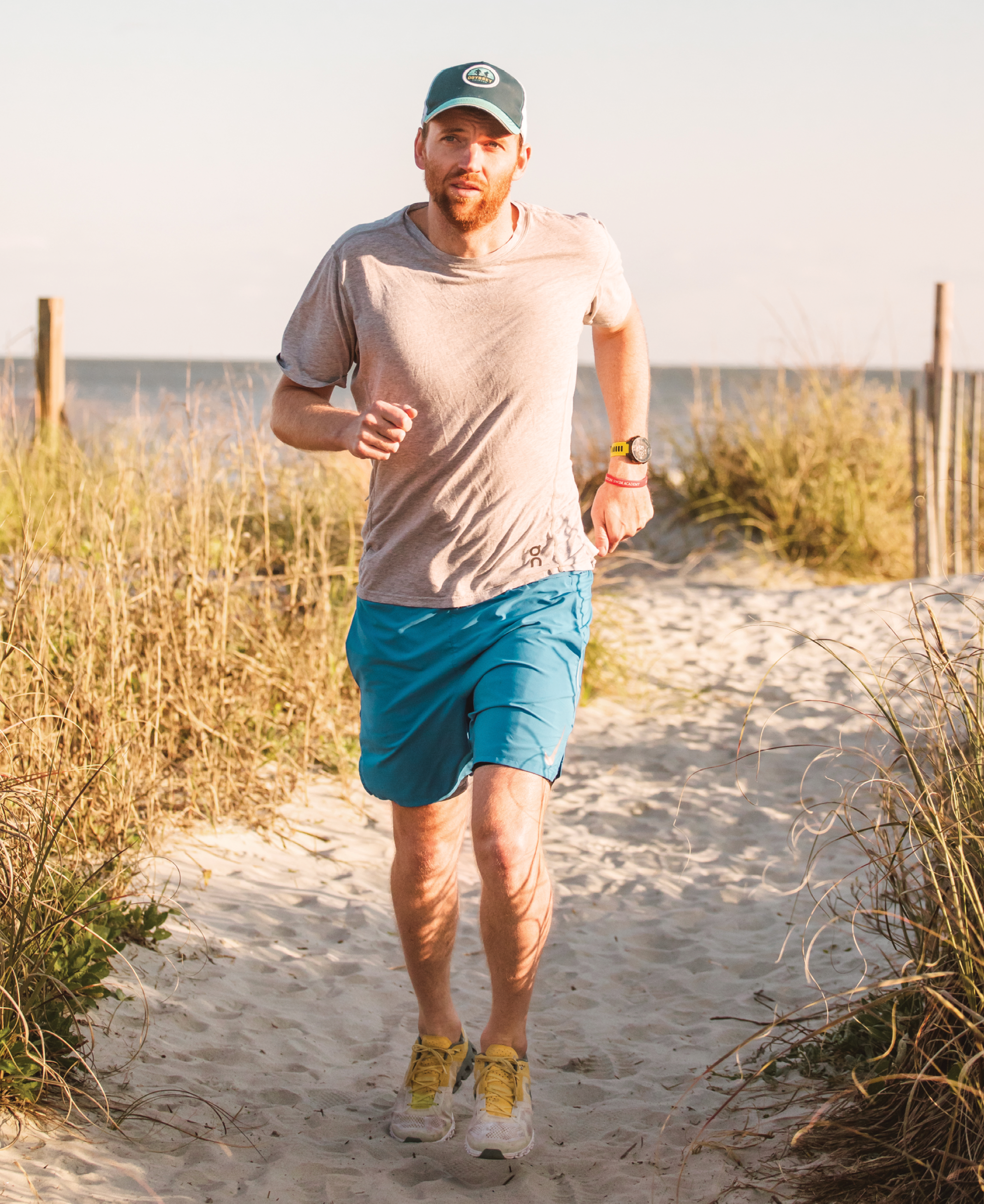"""It was extremely frustrating to not be able to run—it's my mental release during busy days,"" says James Island resident Will Ramsey. ""I'm grateful Dr. Schoderbek could give me an answer and help create a plan to heal."""