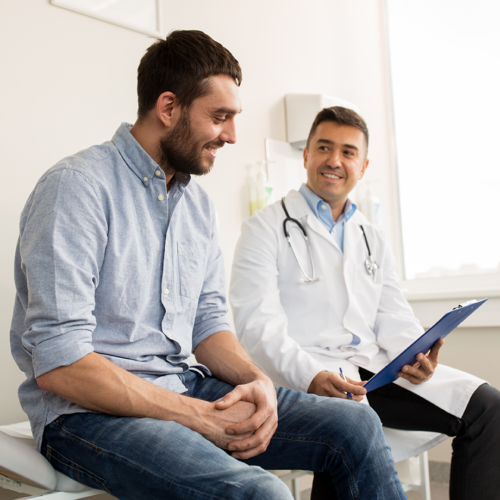 Seven essential men's health screenings