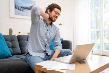 Working from home: Ergonomics to maintain productivity and reduce injuries